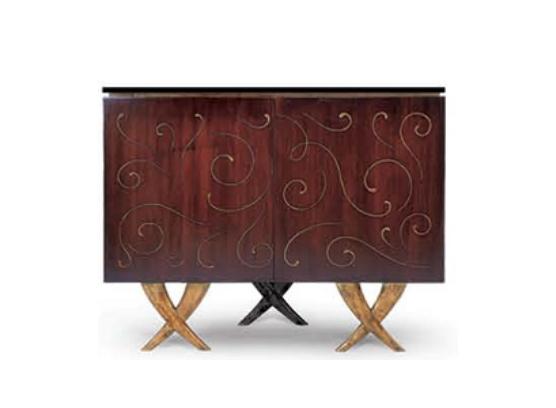 85-0015蓬巴杜高端家具经典后现代备餐柜